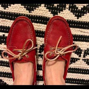 Frye Quincy Boat Shoe, women's sz. 8.5